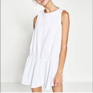 Zara Drop Waist Shift Dress